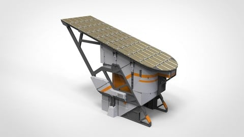 sci-fi solar collector