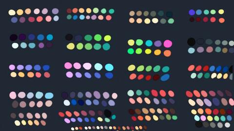 Color Palette 59 for Clip Studio Paint and Ex