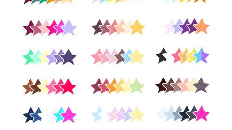 Color Palette 65 for Clip Studio Paint and Ex