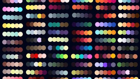 Color Palette 67 for Clip Studio Paint and Ex