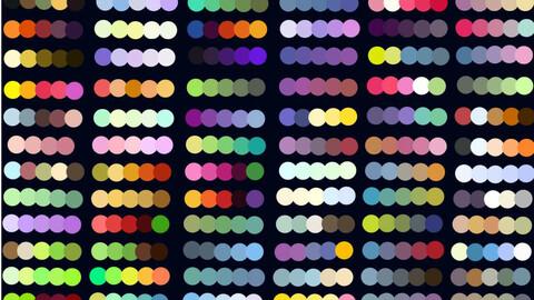 Color Palette 70 for Clip Studio Paint and Ex