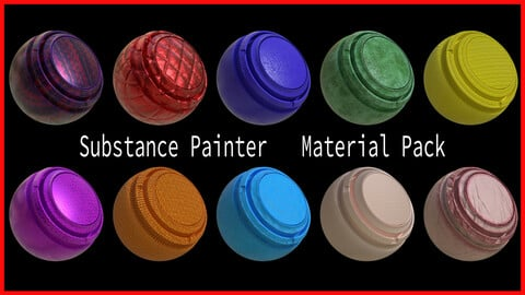 Substance Painter Smart Material Pack Vol 2