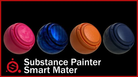 Substance Painter Oil Paint - Smart Material