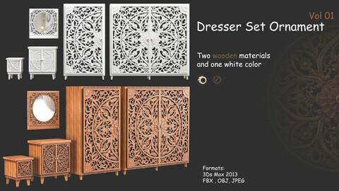 Dresser Set Ornament Vol 01