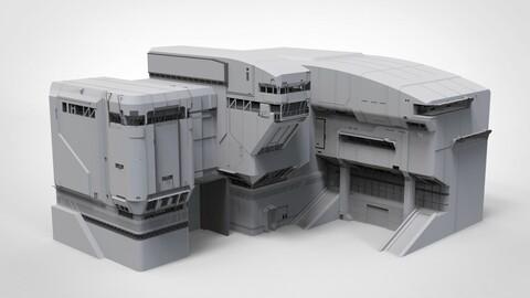 halo sci-fi architecture
