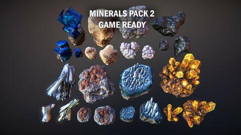 Minerals pack 2
