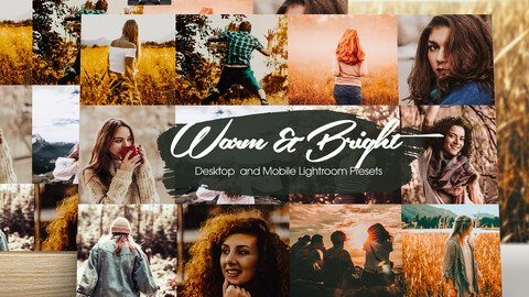 Warm and Bright Lightroom Presets