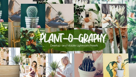 Plant-o-graphy Lightroom Presets