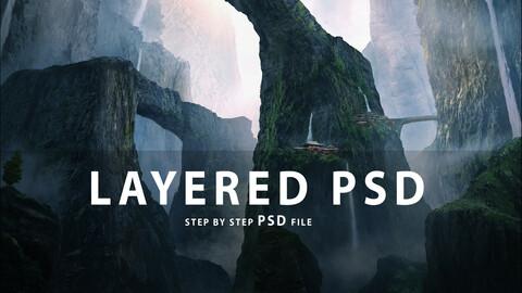 Mountain - PSD Tutorial