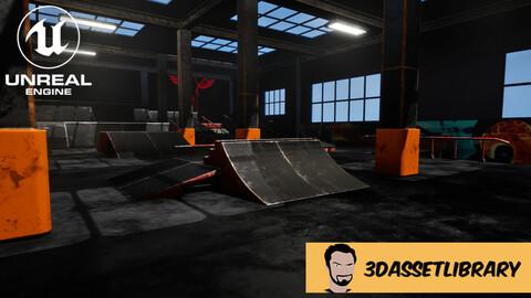 Skate Park Vol 1 For Unreal Engine