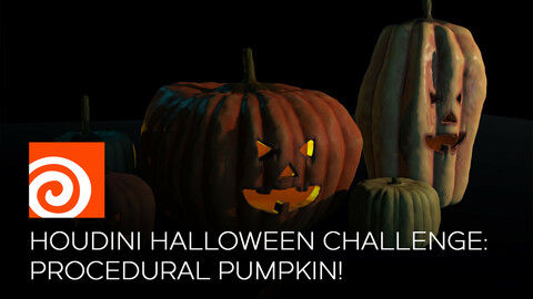 Houdini Halloween Challenge: Procedural Pumpkin!