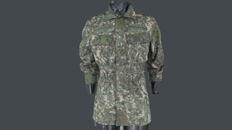 Photoscan_Army_0005_only HighPoly Mesh (16K Texture)