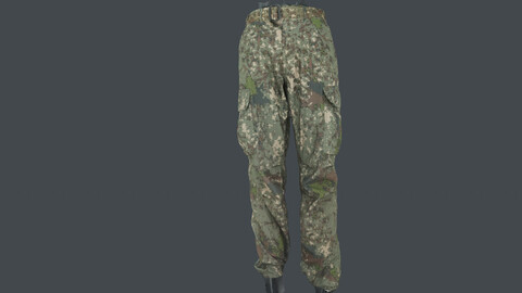 Photoscan_Army_0006_only HighPoly Mesh (16K Texture)