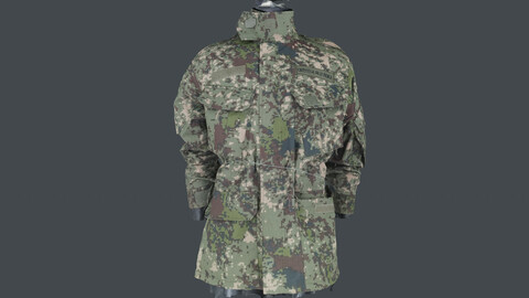 Photoscan_Army_0009_only HighPoly Mesh (16K Texture)