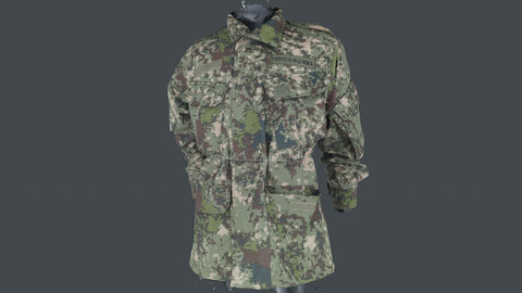 Photoscan_Army_0010_only HighPoly Mesh (16K Texture)