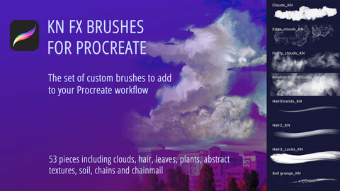 KN FX Brushes for Procreate
