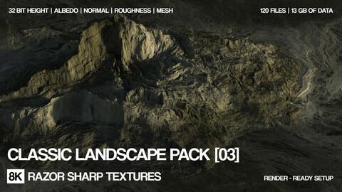8K Classic landscape pack | PBR