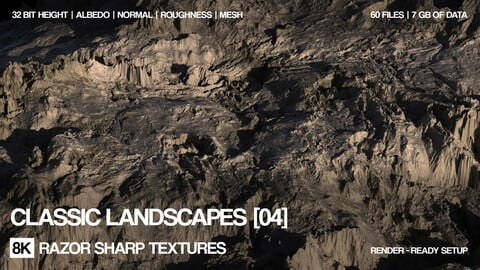 Free 8K Classic landscape| PBR