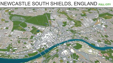 Newcastle Upon Tyne  Gateshead  Sunderland  South shields  England 60km