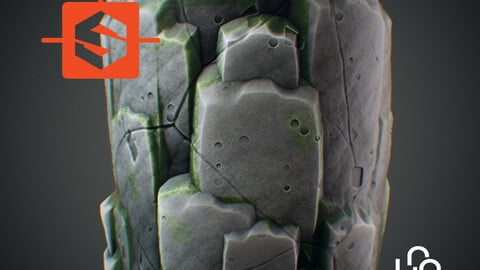 Substance Designer Tutorial - Stylized Cliff Rocks