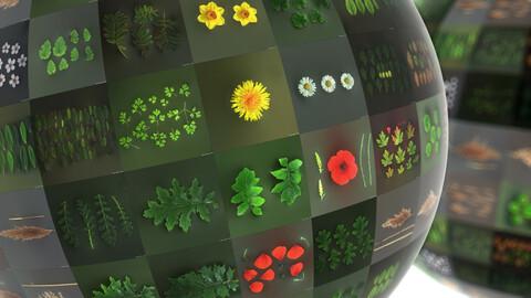 Photometric Scan Vegetation - Scan Pack #1