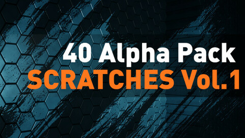 🟥 40 Alpha Pack - Scratches vol.1