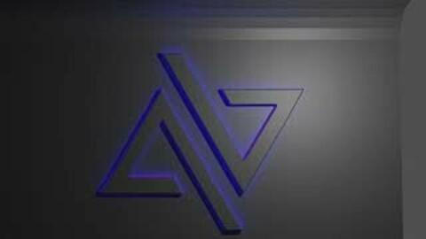 logo animation blend file