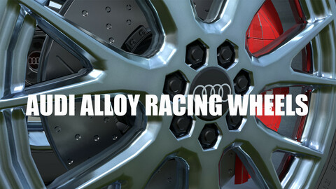 Audi Alloy Wheel Set