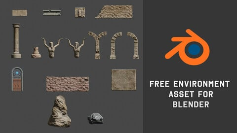 Ruin Empire - Free 3D asset