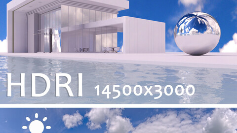 Spherical HDRI map 41