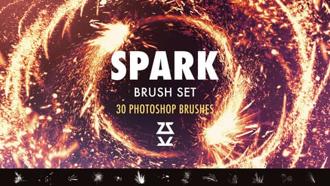 Spark Brush pack