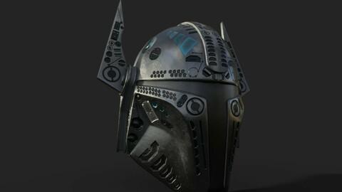 Mandalorian Helmet PBR