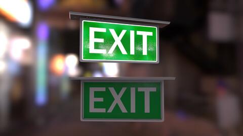 Emergency Exit Indicator V2
