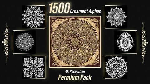 1500 Ornament Alphas Premium Pack