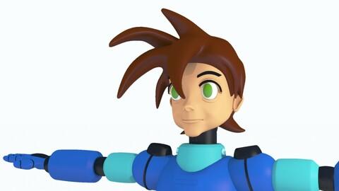 Mega Man Pose 1