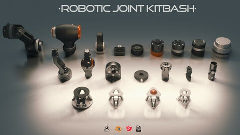Robotic Joint Kit-Bash