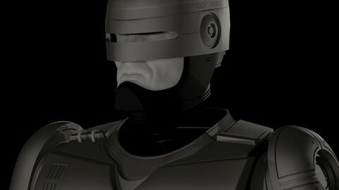 ROBOCOP SUT FOR 3D PRINTING