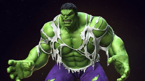 Super Hero Anatomy Course for Artists -The Hulk