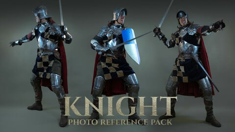Knight Photo Reference Pack