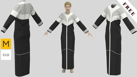 Cloak Female01 Abaya