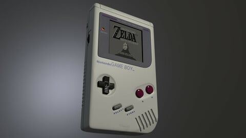 GameBoy with cartridge
