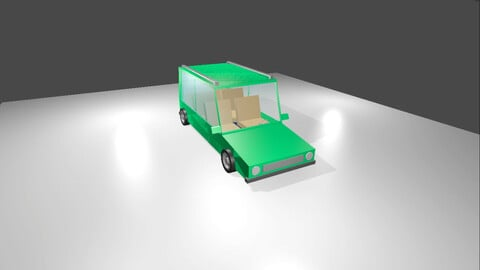 Cartoon Car (Blender)