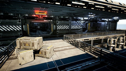 Modular Sci-Fi Station