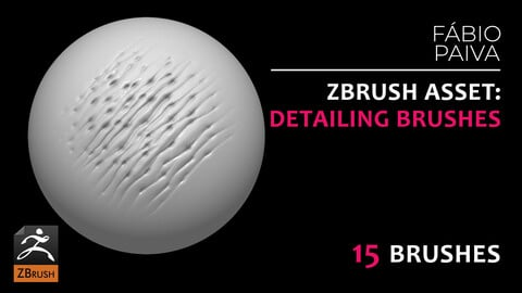 ZBrush Asset: Detailing Brushes