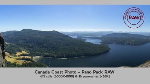 Canada Coast Photo & Pano Pack RAW