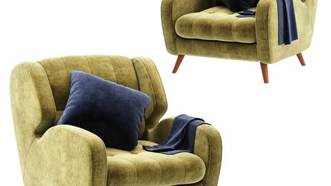 Studio  Fabric Armchair
