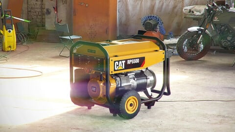 Electric generator - CAT RP 5500
