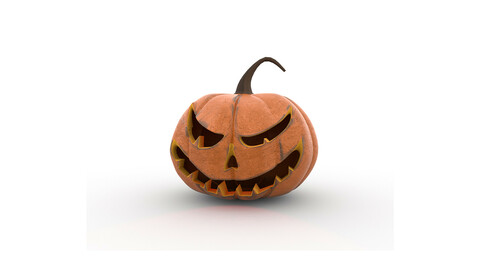 The Halloween pumpkin Jack o lantern