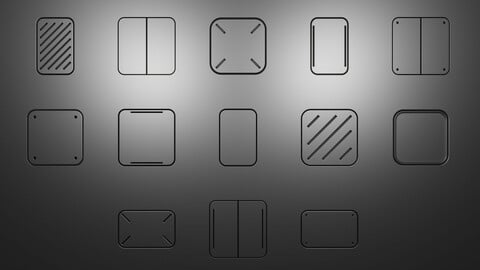 Simple Panels - Decal Pack