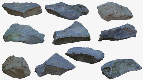 10 Photogrammetry rocks (Vol.1)